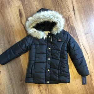 Girl Black Winter Jacket